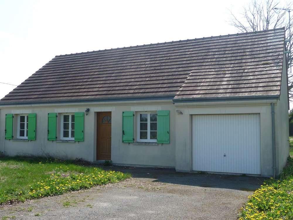Pavillon de 2009, 3 chambres, terrain.