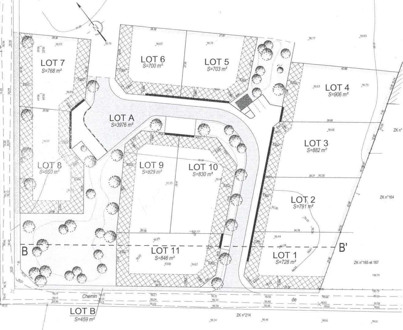 Sale Building land Gondreville