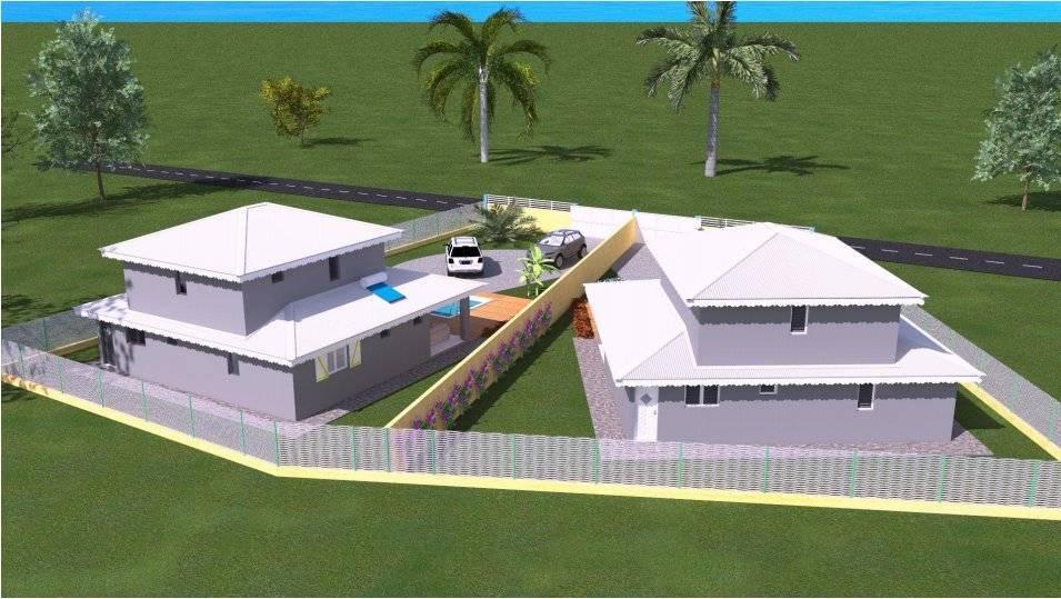 Terrain et construction villa individuelle Sainte Rose