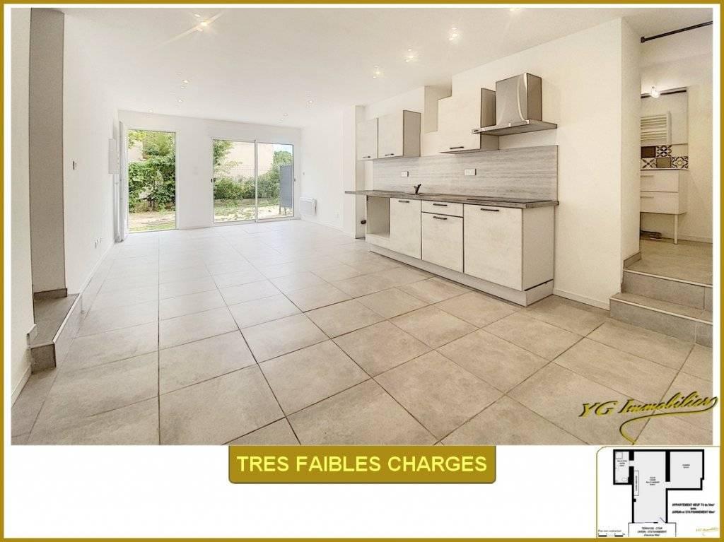 LOFT 55 m² Rez de Jardin - Très faibles Charges