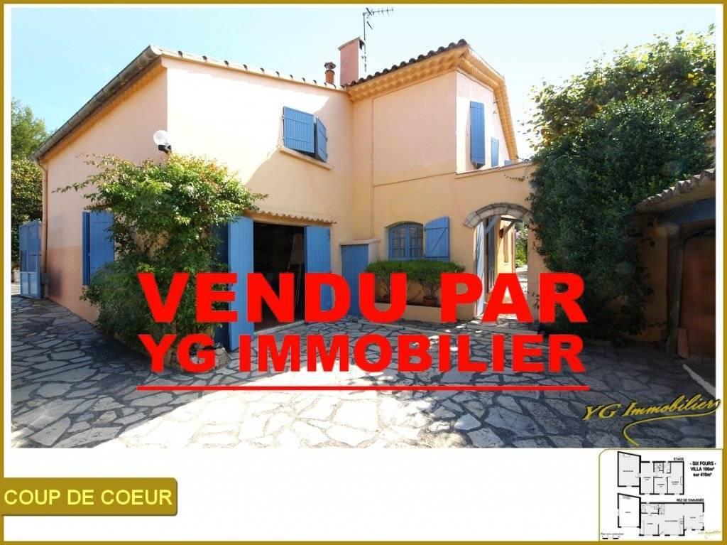 VILLA 100 m² sur 410 m² Proche Centre