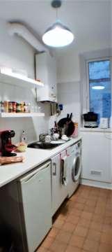 cuisine indépendante avec chaudière / chauffage / eau chaude individuelle au gaz de ville