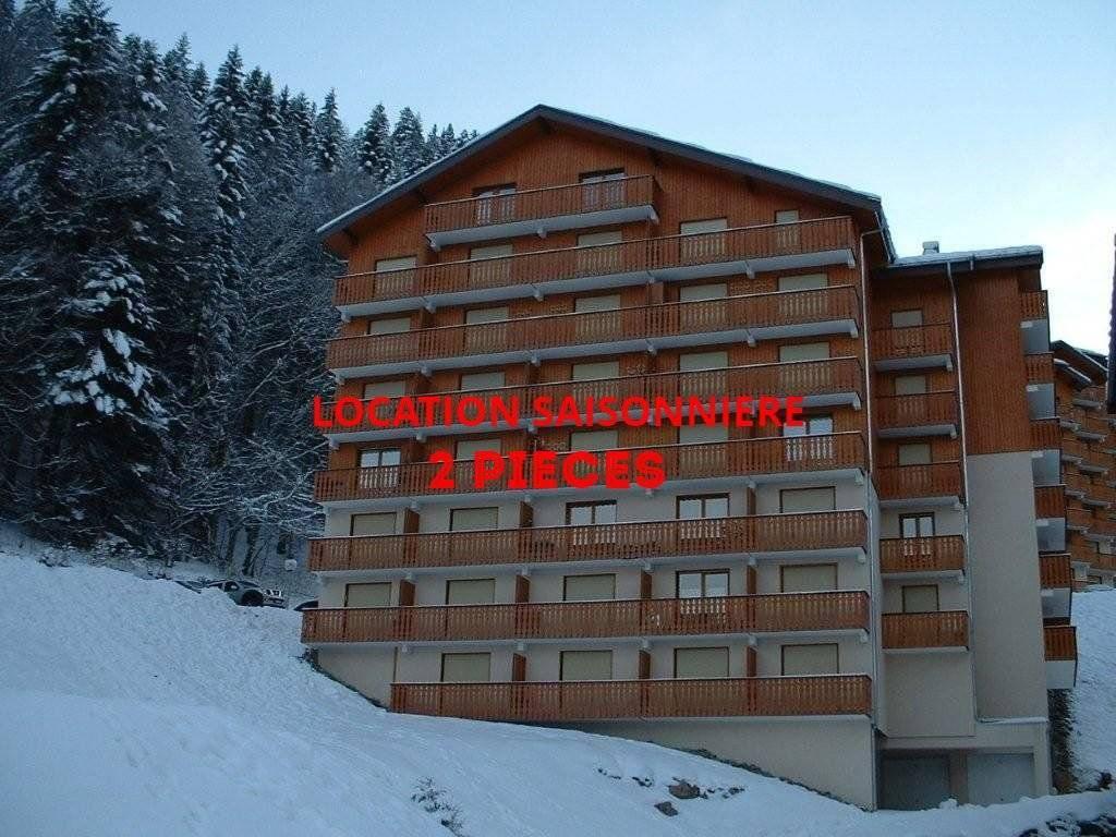 Seasonal rental Apartment Saint-Jean-d'Aulps