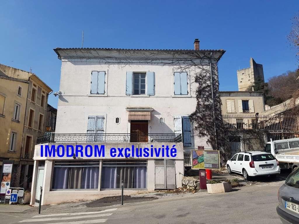Maison bourgeoise centre ville Crest pour investissement locatif