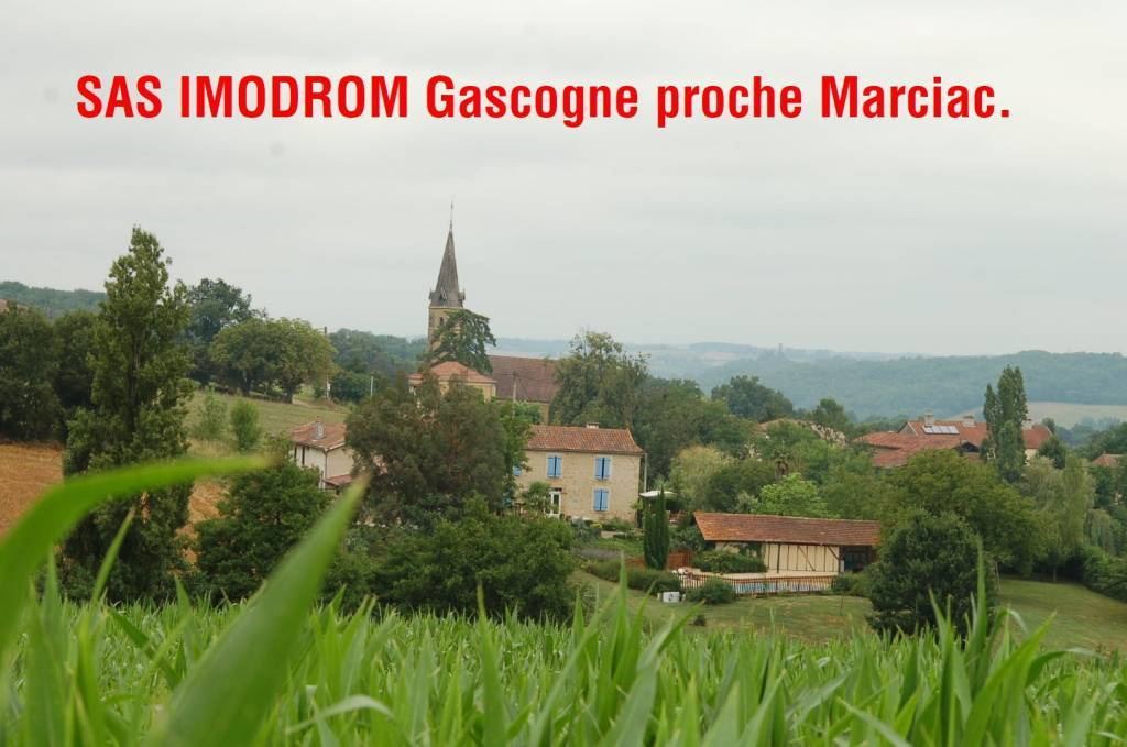 Mas 400 m2 habitable Garcogne 8 km Marciac festival JAZZ
