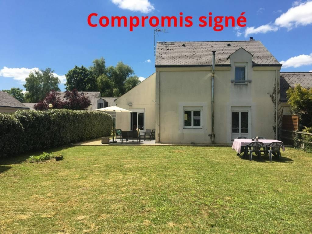 EXCLUSIVITE A 5 mn de BOURGUEIL, sur la commune de BENAIS,  maison T4  tout confort (env. 100 m² hab)