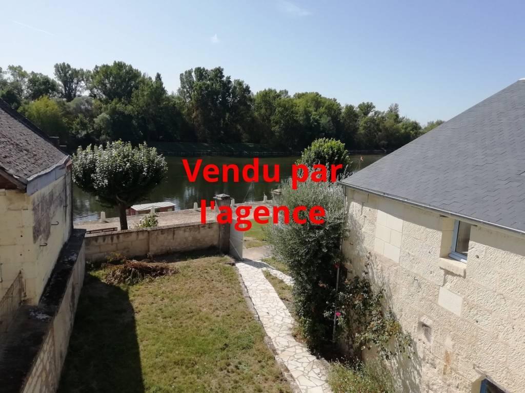 Entre Chinon et Saumur, sur les quais de Loire