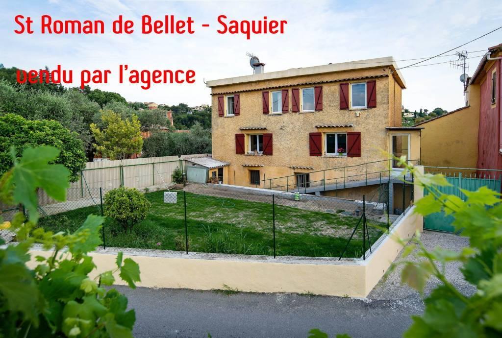 Sale Apartment villa Nice Saint-Roman-de-Bellet
