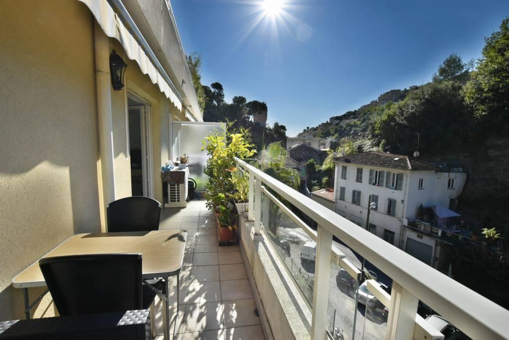 BAISSE de PRIX - PESSICART, NICE - Appartement 3P avec terrasse ensoleillée