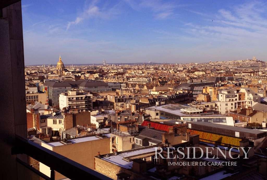 Balcon -Terrasse et superbe vue panoramique pour ce studio