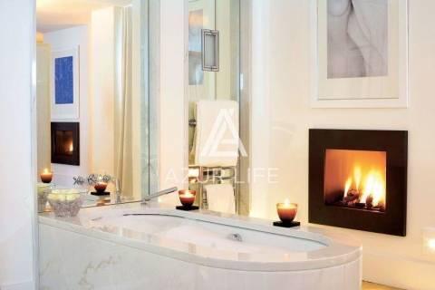 Ванная комната Камин