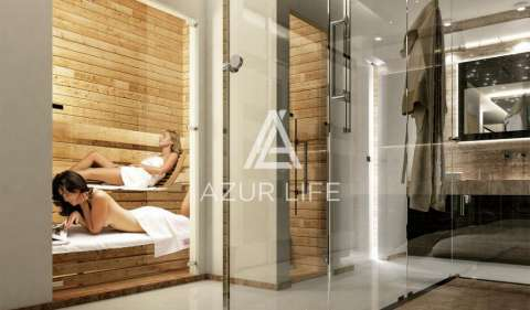 Salle de bains Acier inoxydable Cheminée Carrelage