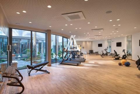 Exercise room Wooden floor
