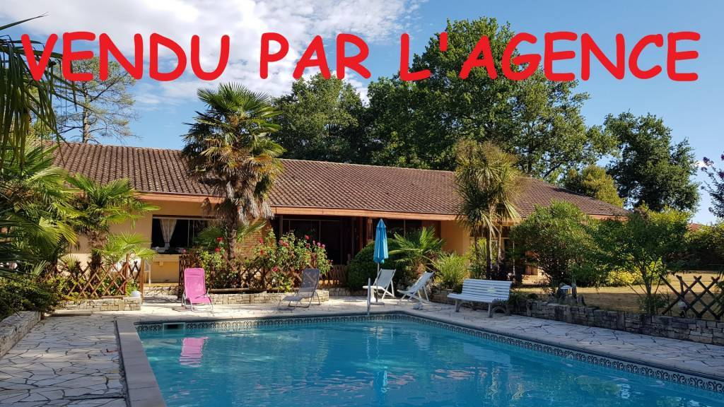 Villa contemporaine T5 avec un studio piscine