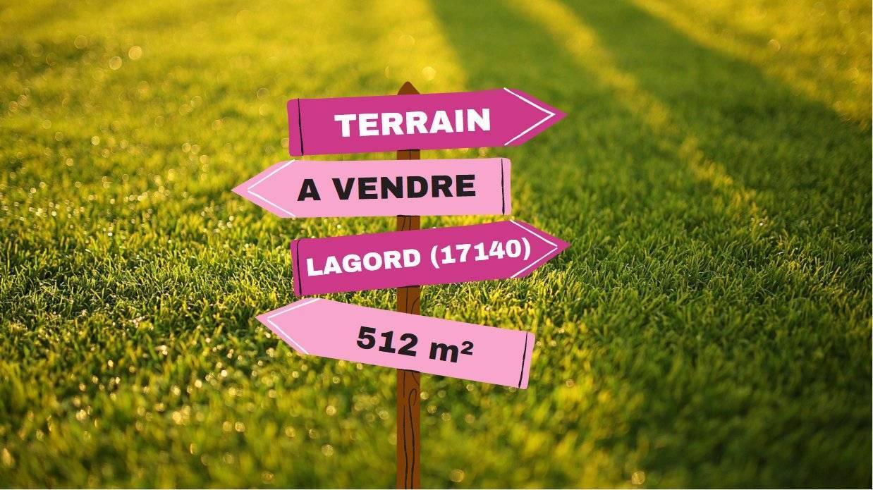Vente Terrain constructible Lagord