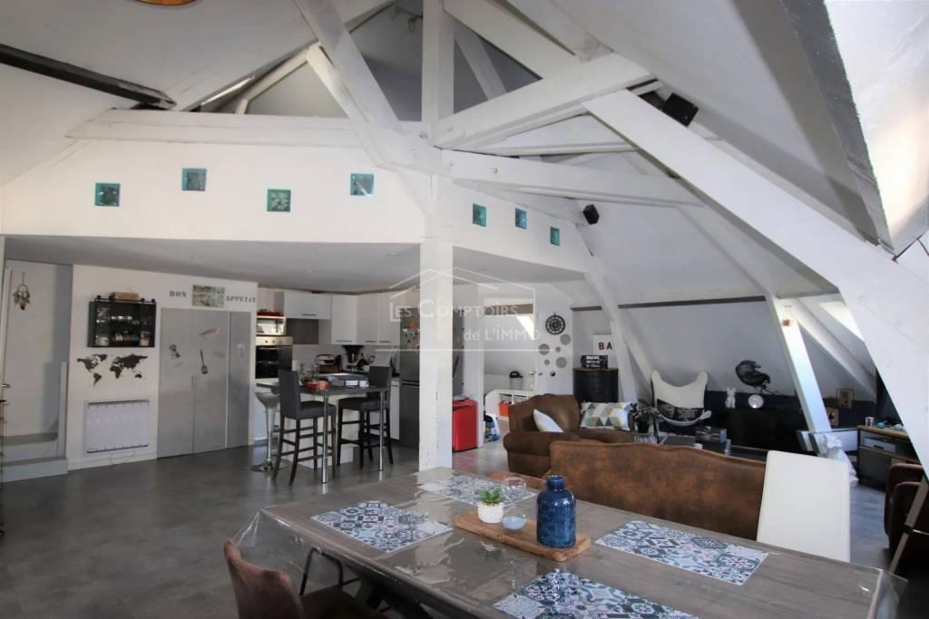 Saint Nazaire, appartement 3 pièces