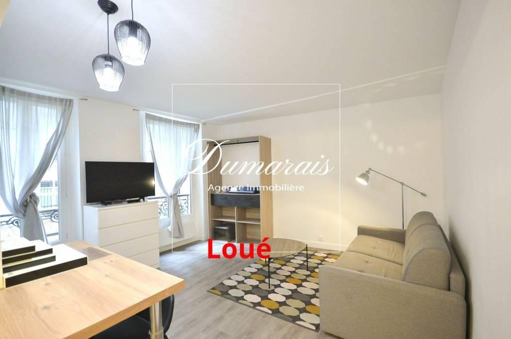 75002 Paris - Appartement Cosy 1 pièce  -