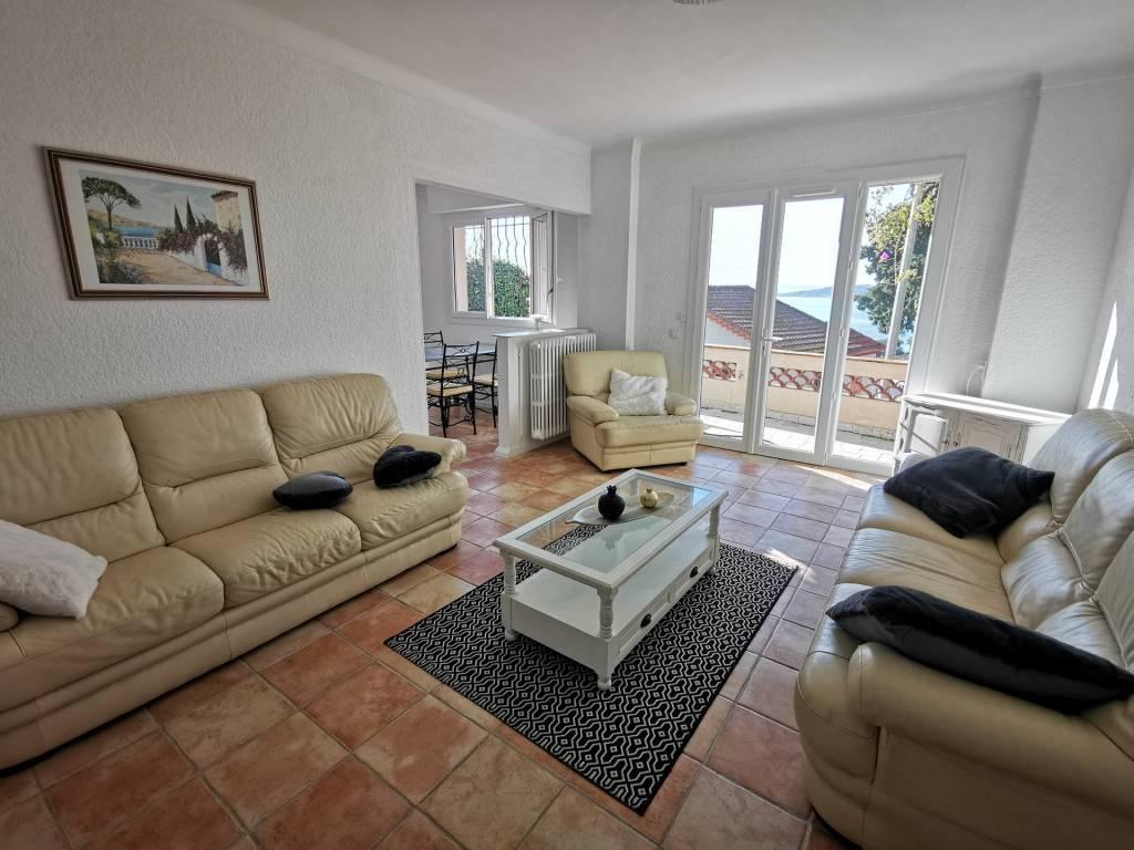 Appartement avec une vue mer Panoramique