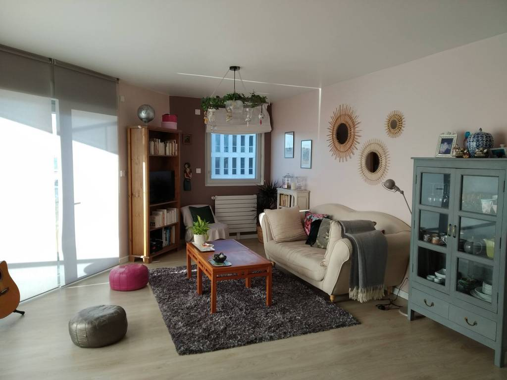 Face Pont Tabarly - T4 - 84m² - Vue Loire