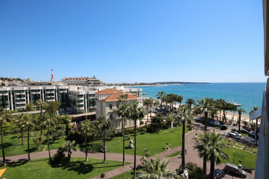 Cannes Croisette  Appartement 3 pièces  vue mer