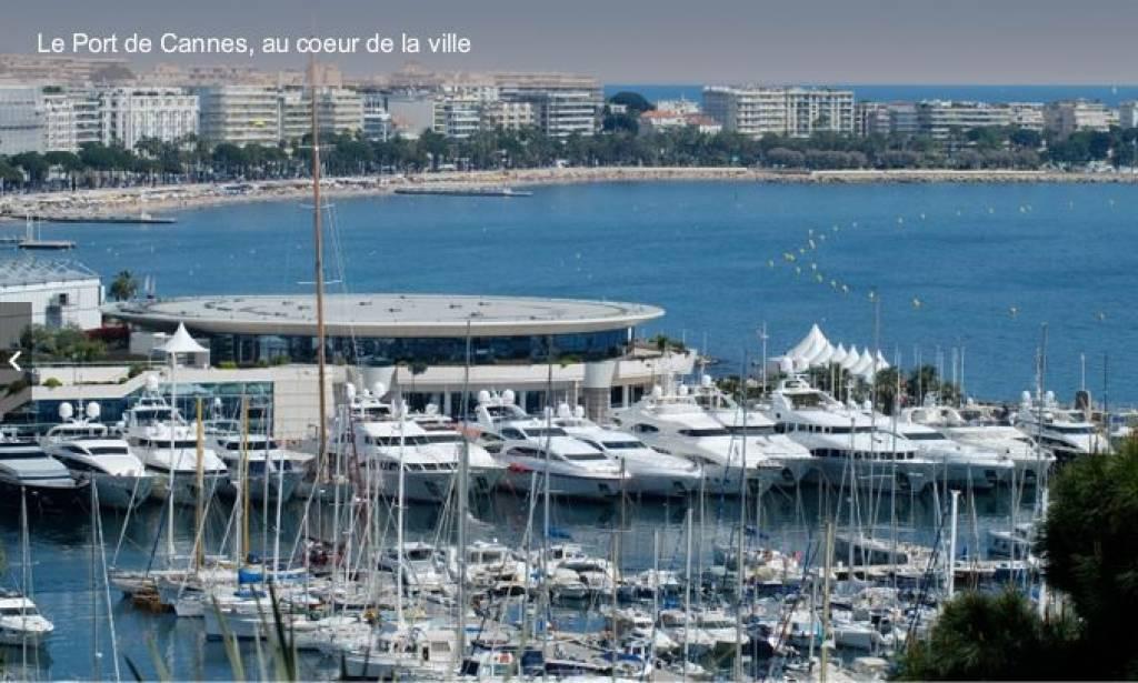 Cannes Très belle vue mer Pal Beach