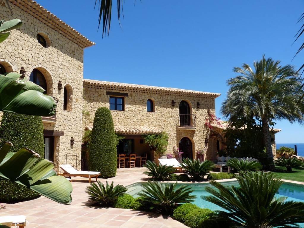 Alicante in Spagna splendida vista mare, 5 camere da letto e 10 camere