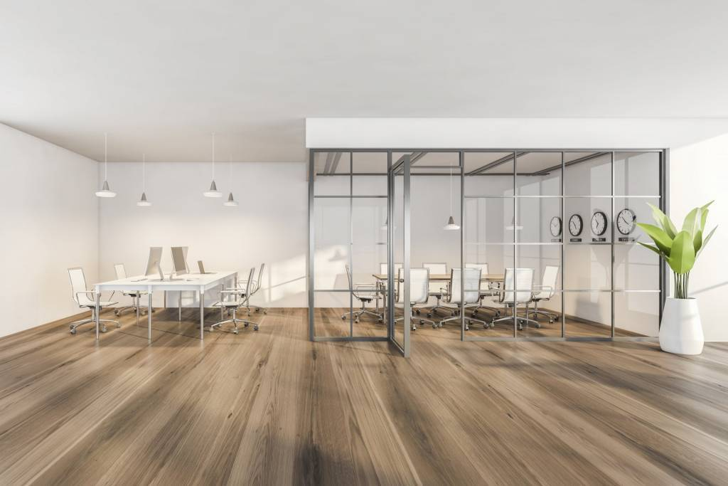 open space,door,hall,office,space,3d,white,armchair,furniture,in
