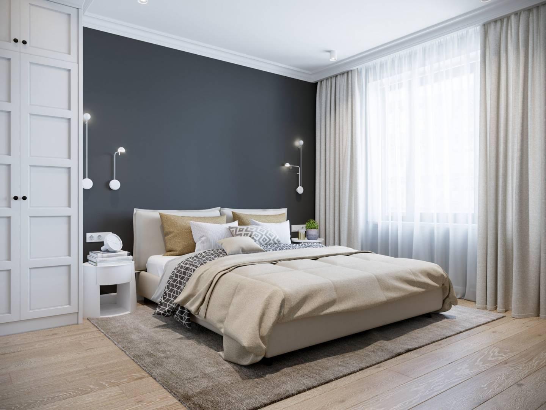 wooden floor,inside,3d,beautiful,white,furniture,wood,headboard,