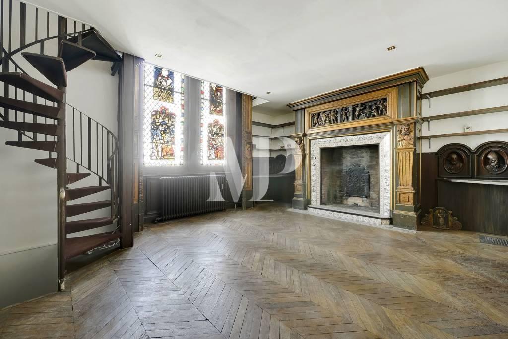Appartement atypique en triplex Paris 17ème - Péreire