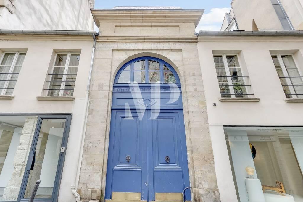 Murs de galerie- 1 pièce - 35,30 m2 - Paris 06