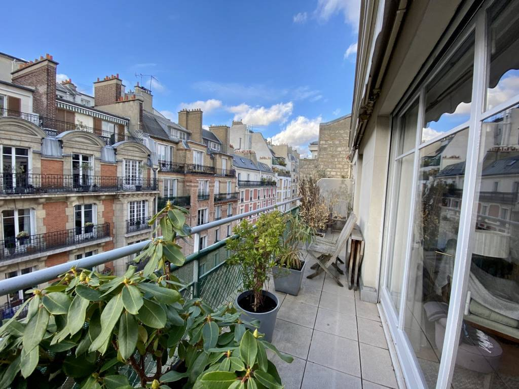 Appartement de 3 pièces - Auteuil Nord - Paris 16ème