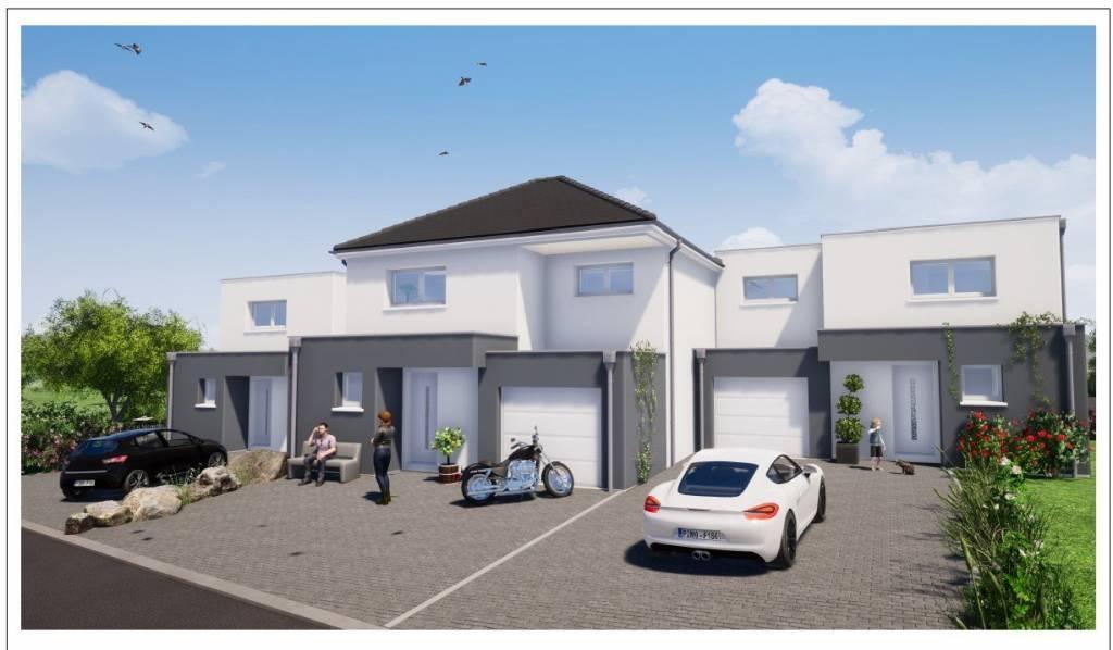 Lotissement 8 maisons
