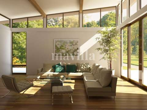 Living-room Natural light Wooden floor