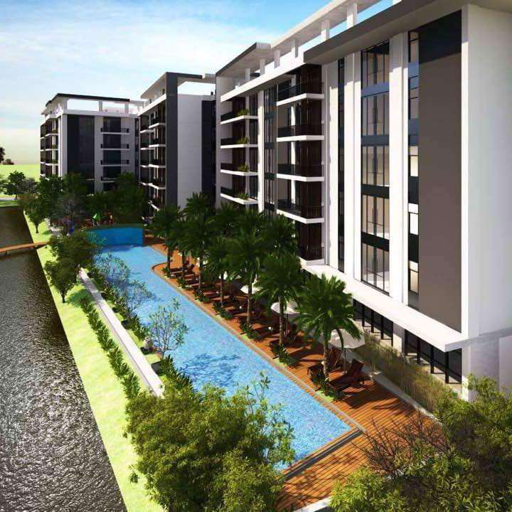 Euro-Western style Luxury 3 br. Siem Reap City Condos for Sale In Siem Reap