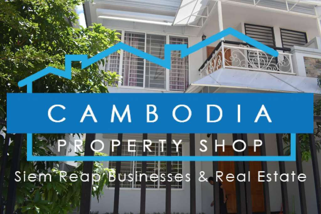 Modern & Western Style, new build 3 story Siem Reap Townhome for Rent