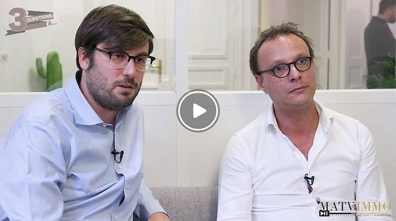 Interview entre Nicolas Guillaud de Saint-Ferréol, Président directeur général d'Apiwork et Guillaume Brochut, Président fondateur de Wall Market.
