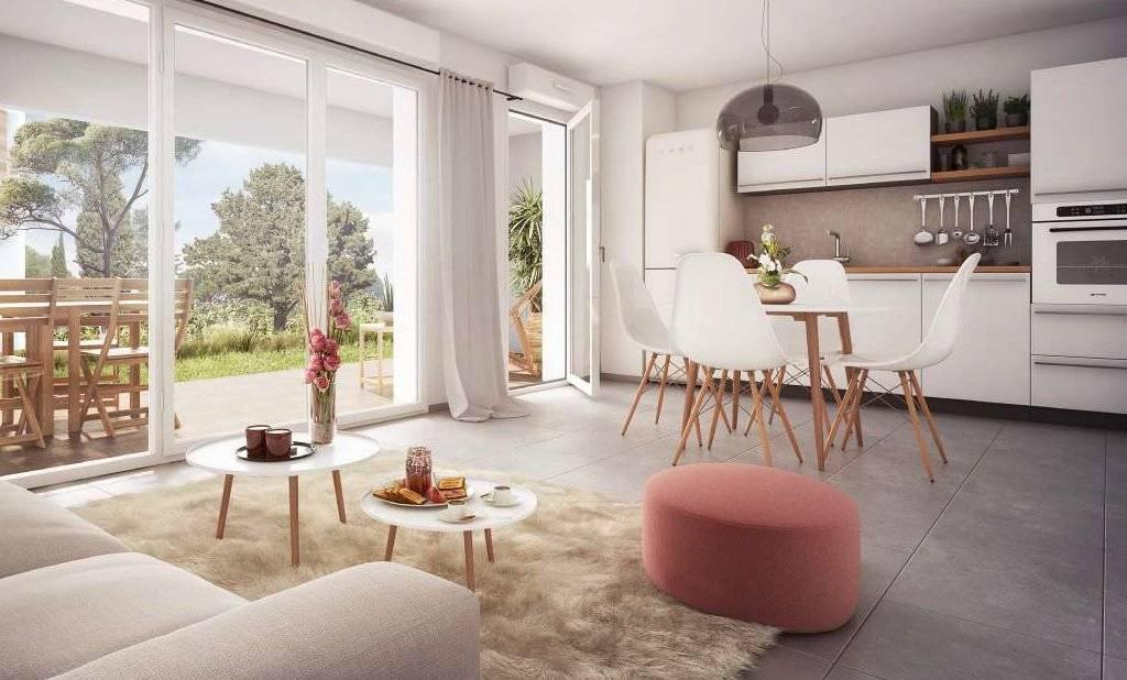 Très beau T3 neuf dans une résidence sécurisée, jardin , terrasse, parking privatifs
