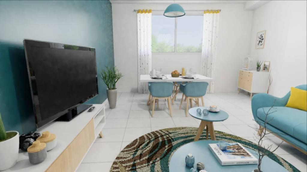 Perpignan St Gaudérique appartement T3 à vendre
