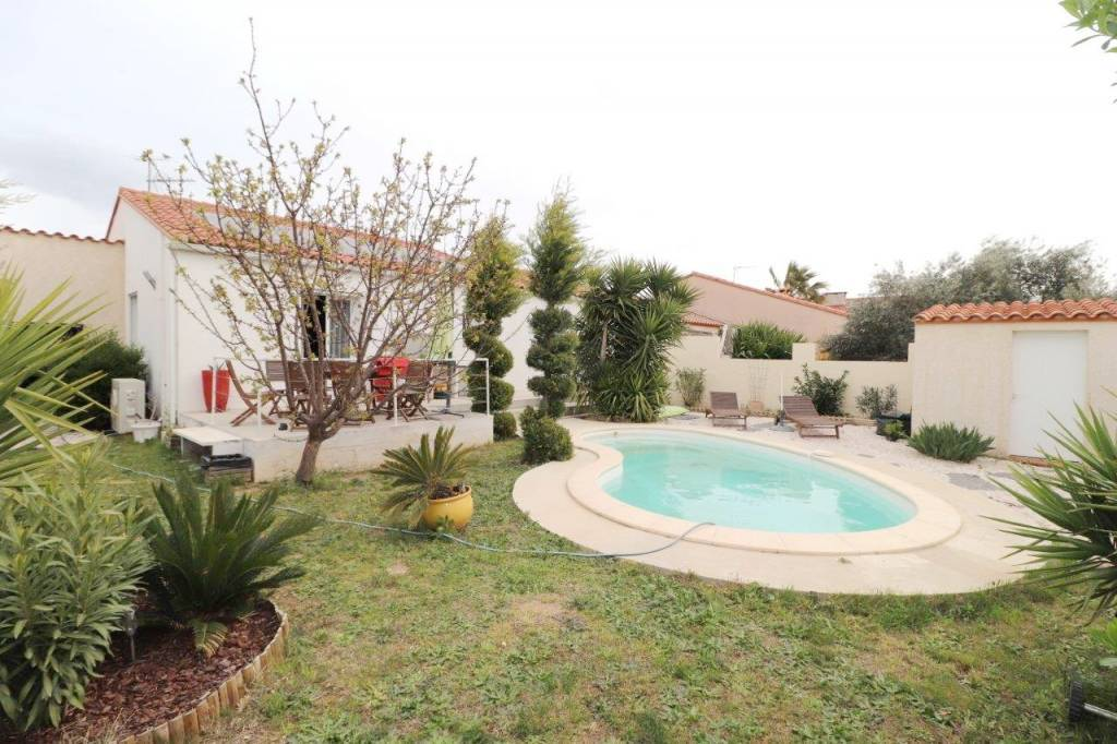 St Feliu d'Amont, belle villa T4 en 3 faces, plain-pied .