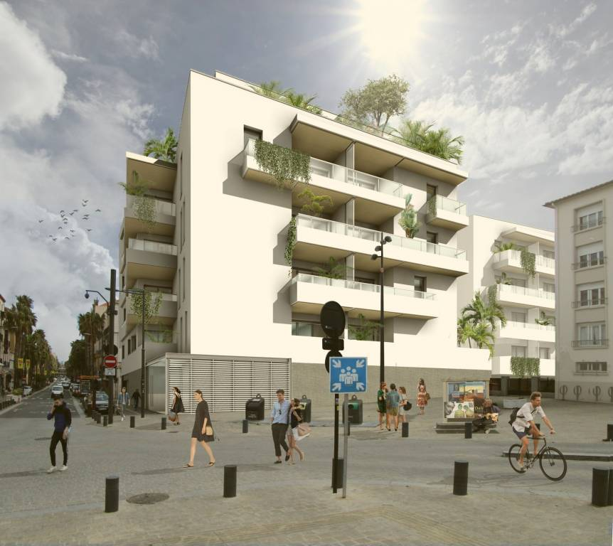 Perpignan centre-ville, T3 en VEFA avec terrasse et parking