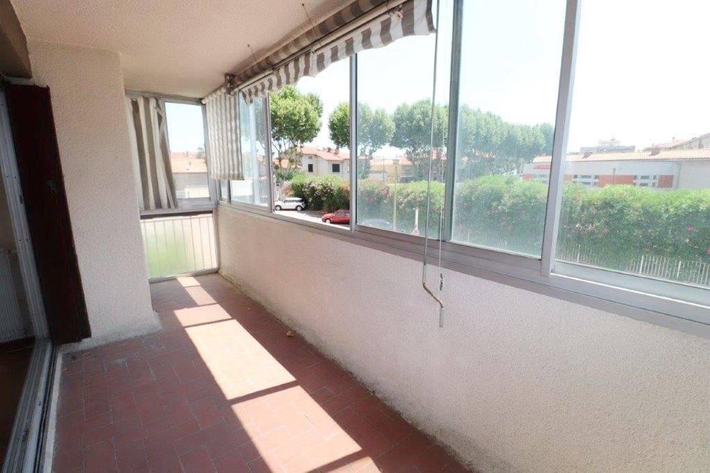 Perpignan, Résidence Anatole France, Grand T2 de 59 m² surface utile.