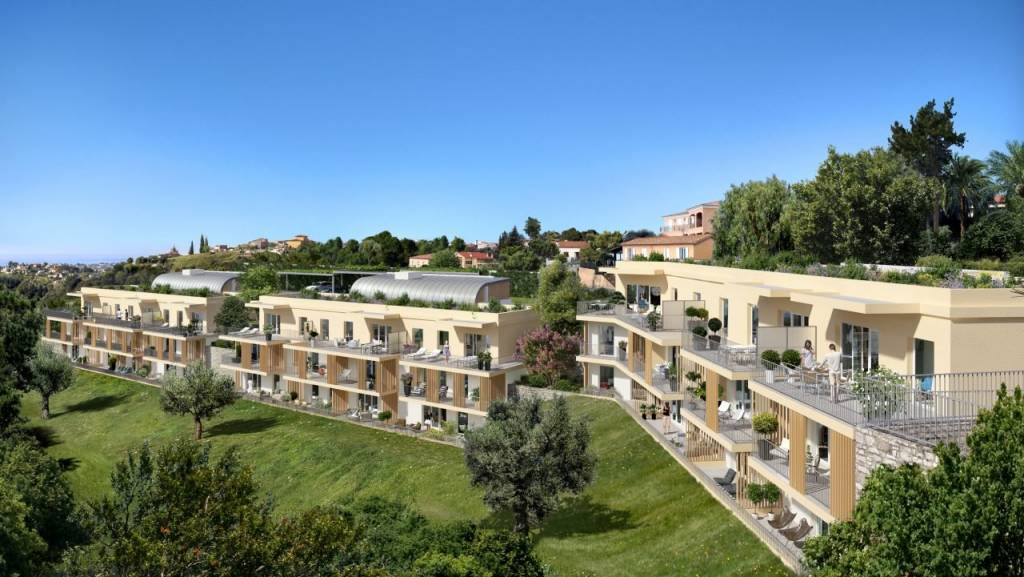 Nice, St Pancrace, appartement Neuf