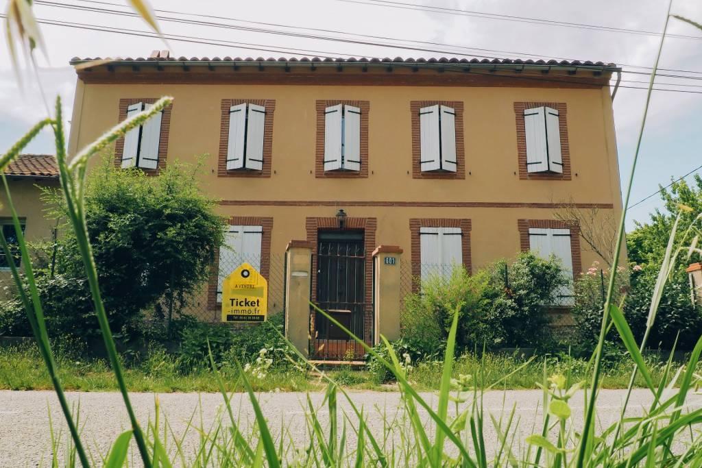 Maison toulousaine T7 de 245m2 + 1600m2 de terrain clôturé