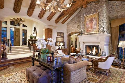 Living-room Fireplace