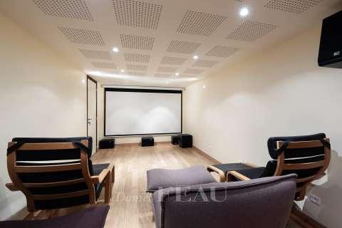 Home cinema Wooden floor