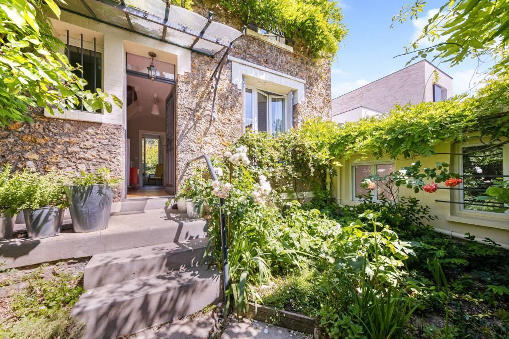 Saint-Cloud - Montretout - Maison meulière.