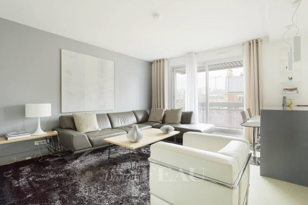 Paris 15th District – A two-bed apartment rented unfurnished
