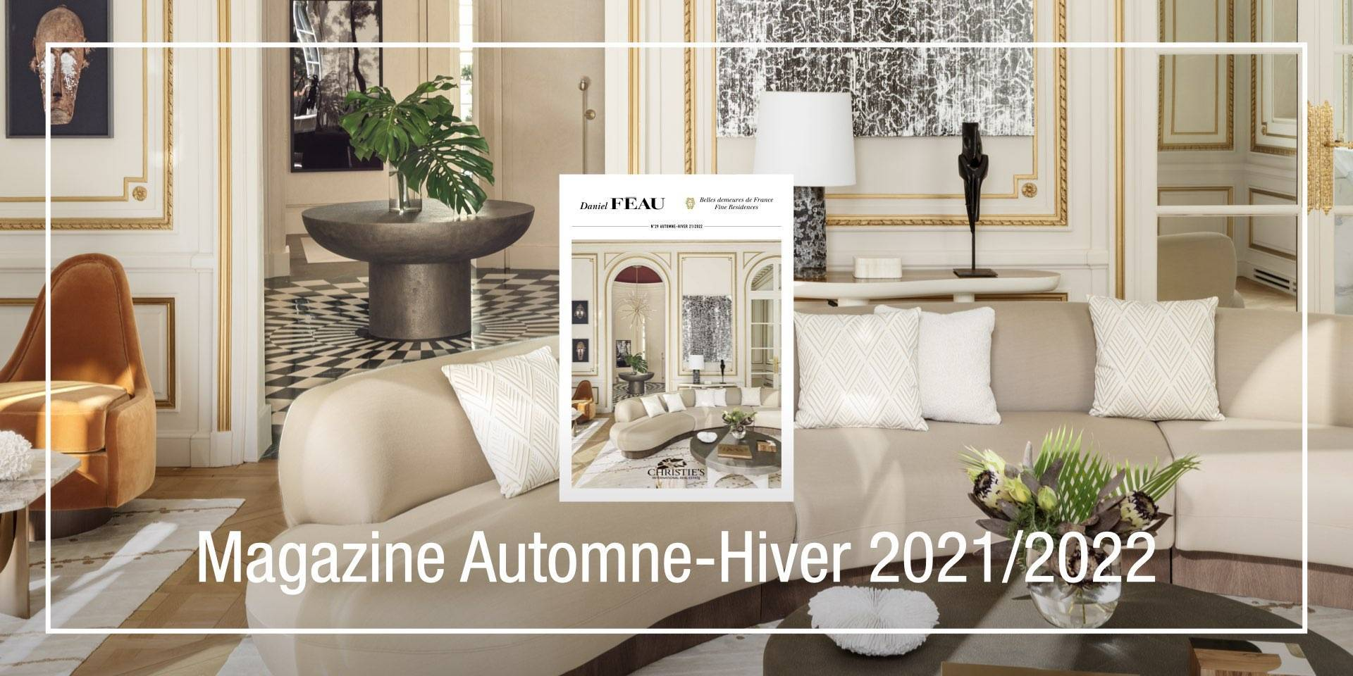 Notre nouveau magazine automne-hiver 2021/2022