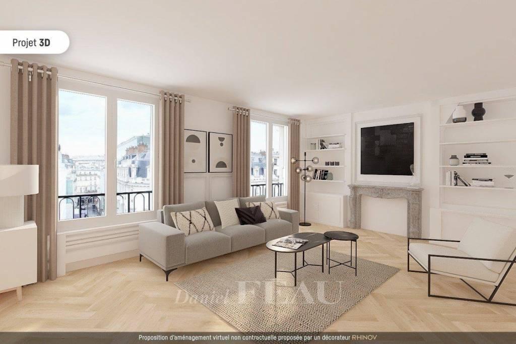 Paris VIIIe - Avenue Matignon
