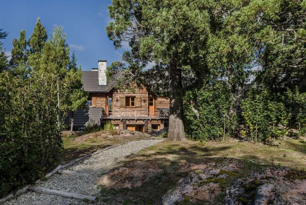 Argentine - Maison avec vue sur le lac Gutiérrez
